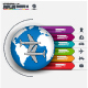 World Travel Business Infographic - GraphicRiver Item for Sale