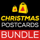 Bundle of Christmas Sale Postcards