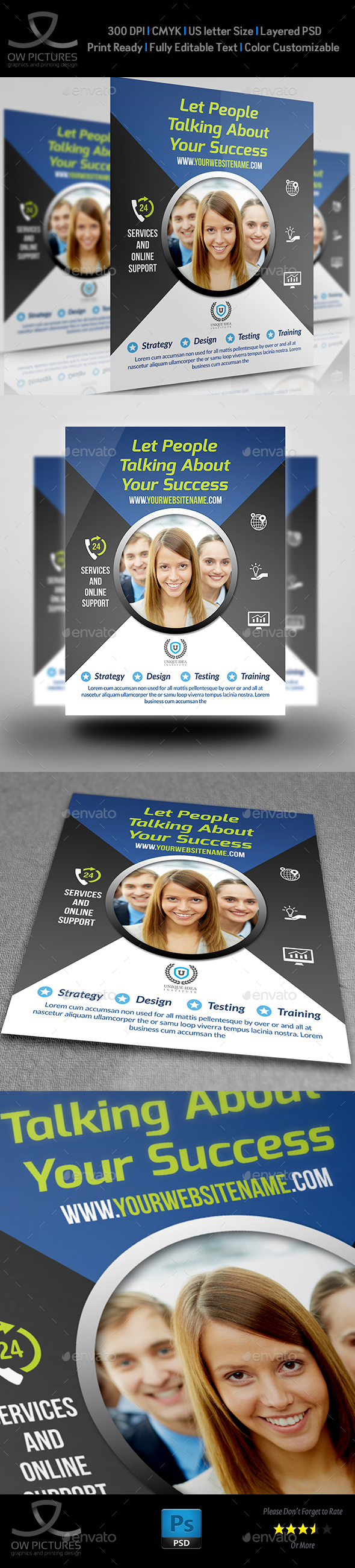 Corporate Business Flyer Template Vol.22 - Corporate Flyers