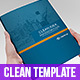Clean Idea _ InDesign Busines Brochure Template - GraphicRiver Item for Sale
