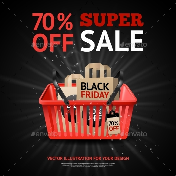 Black Friday Sale Print - Commercial / Shopping Conceptual