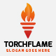 Torch Flame Fire Logo - GraphicRiver Item for Sale