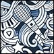 2 Doodles Music Seamless Pattern - GraphicRiver Item for Sale