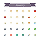 Jewelry Flat Icons - GraphicRiver Item for Sale