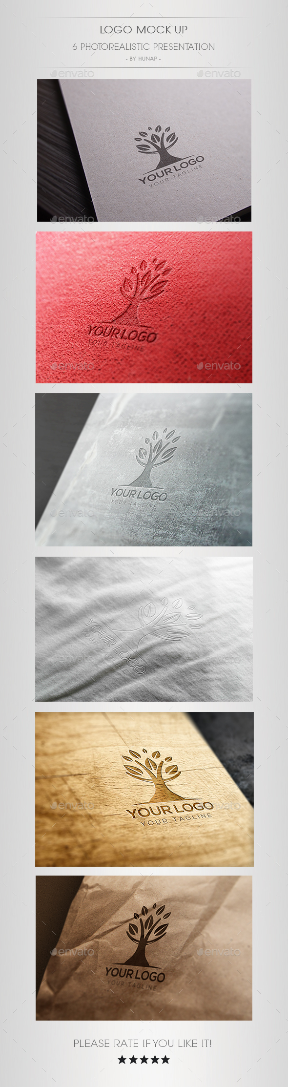 Logo Mock Up - Logo Product Mock-Ups