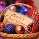 Merry Christmas Colorfull Balls - VideoHive Item for Sale