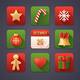 9 Christmas Icons - GraphicRiver Item for Sale
