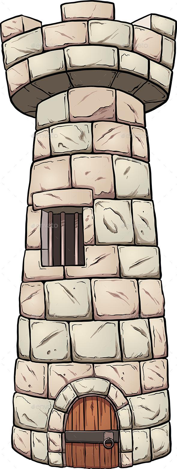 Rock Tower - Buildings Objects