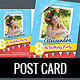 Birthday Post Card and Invitation Card - GraphicRiver Item for Sale