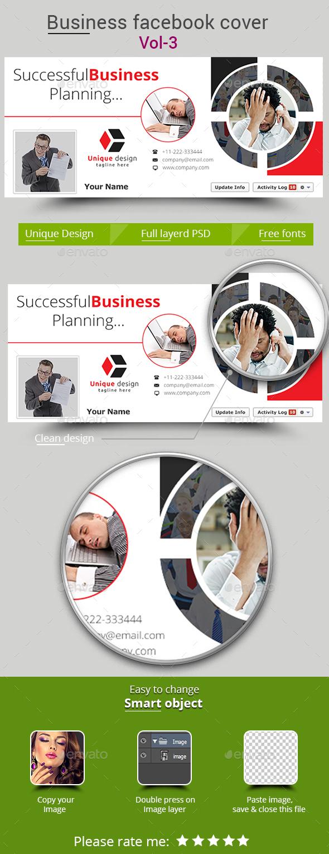 Business Facebook Cover Vol-3 - Facebook Timeline Covers Social Media