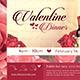 Valentine Dinner Flyer Template - GraphicRiver Item for Sale