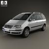 Volkswagen sharan (mk1) 2004 590 0001.  thumbnail