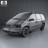 Volkswagen sharan (mk1) 2004 590 0003.  thumbnail