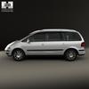 Volkswagen sharan (mk1) 2004 590 0005.  thumbnail