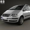 Volkswagen sharan (mk1) 2004 590 0006.  thumbnail