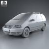 Volkswagen sharan (mk1) 2004 590 0011.  thumbnail