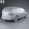 Volkswagen sharan (mk1) 2004 590 0012.  thumbnail