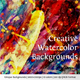 Creative Watercolor Backgrounds - GraphicRiver Item for Sale