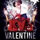 Valentine Day Party Flyer