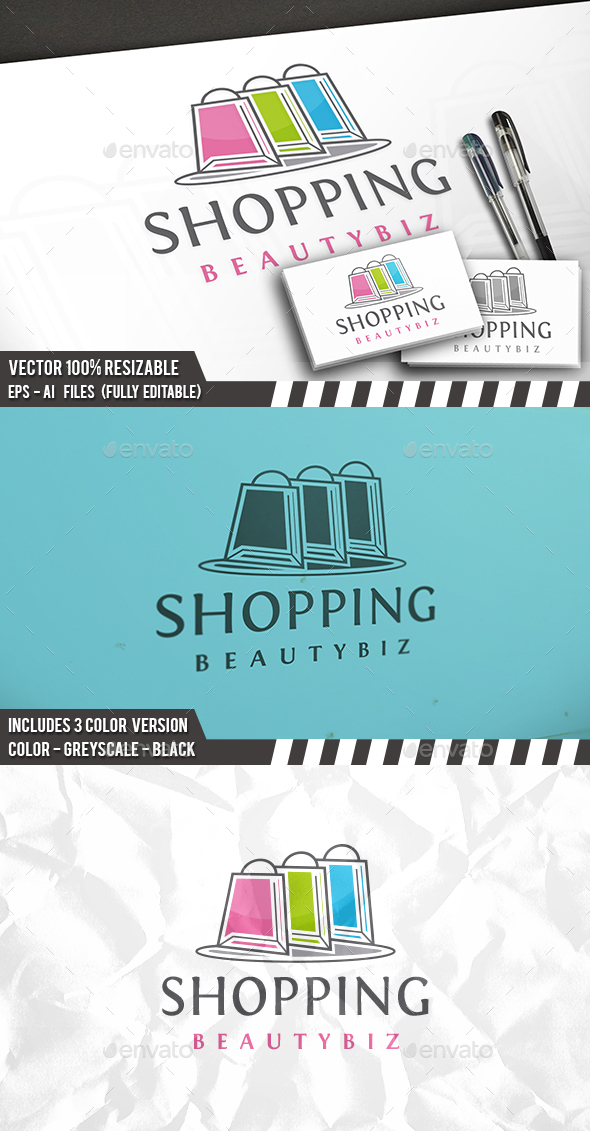 Shopping Logo Template - Objects Logo Templates