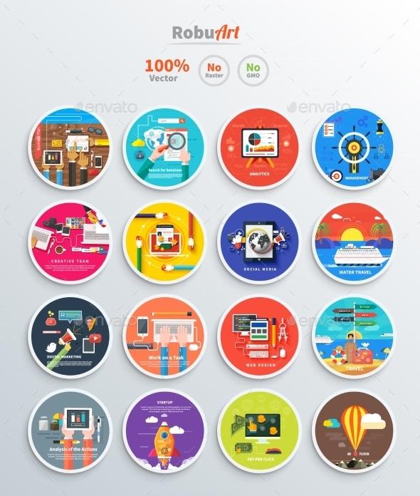 Management Digital Marketing Srartup - Concepts Business