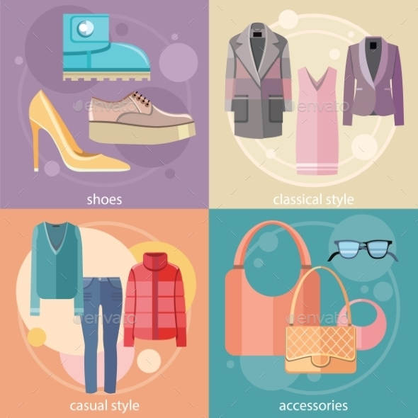 Fashion Design Clothes And Accessories - Concepts Business