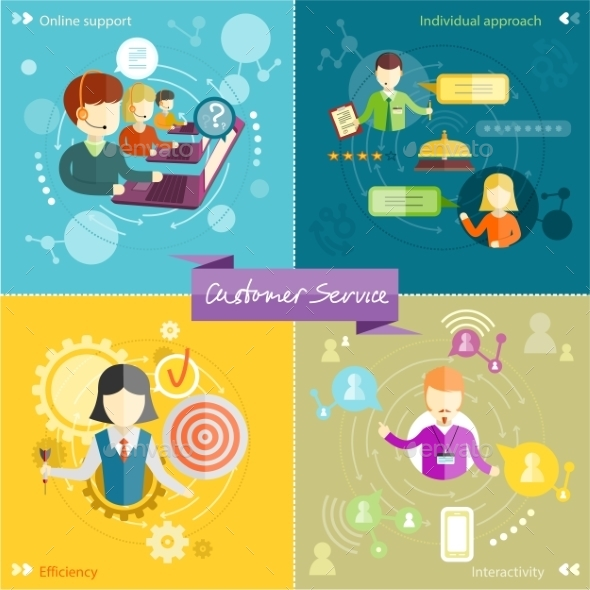 Customer Service Concept - Concepts Business