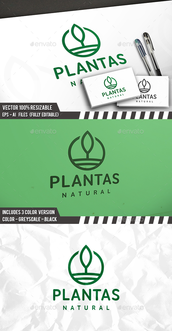Tree Simple Logo - Nature Logo Templates