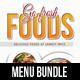 6 in 1 Go Fresh Restaurant Food Bundle