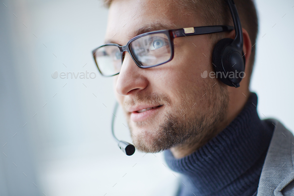 Help-desk manager - Stock Photo - Images