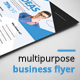 Multipurpose Business Flyer Vol.5 - GraphicRiver Item for Sale