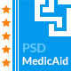 MedicAid - Medical PSD Template - ThemeForest Item for Sale