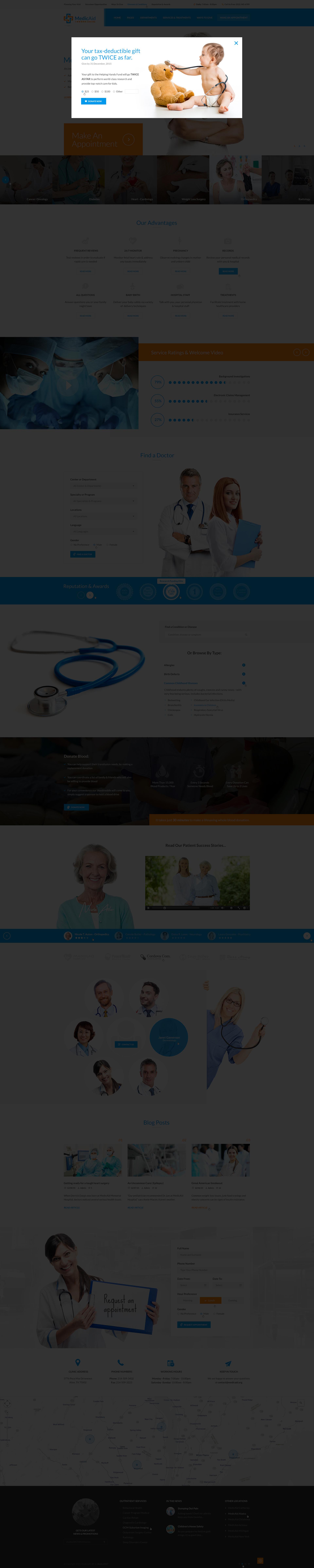 MedicAid - Medical PSD Template by diadea3007 | ThemeForest