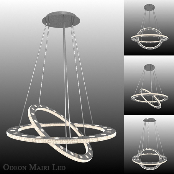 "Lamp ""Odeon Mairi Led"" - 3DOcean Item for Sale"