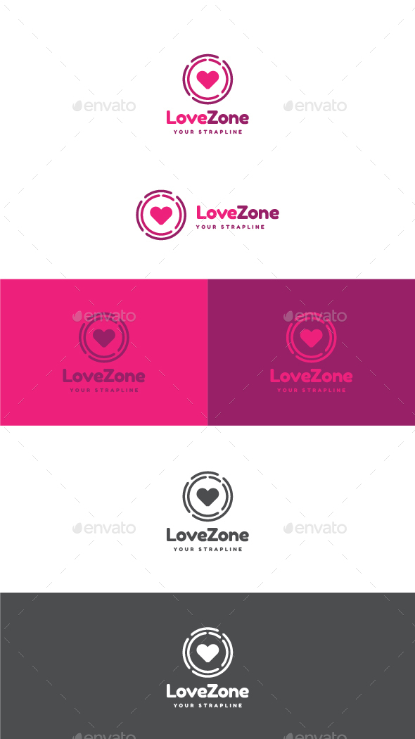 Love Zone Logo - Symbols Logo Templates
