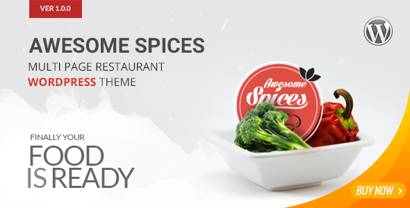 Awesome Spice – Restaurant / Cafe WordPress Theme