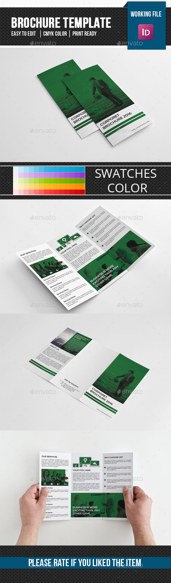 Corporate Trifold Brochure-v272 - Corporate Brochures