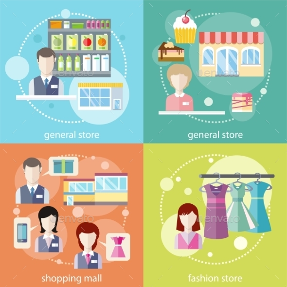 General Store, Shopping Mall And Fashion Store - Retail Commercial / Shopping