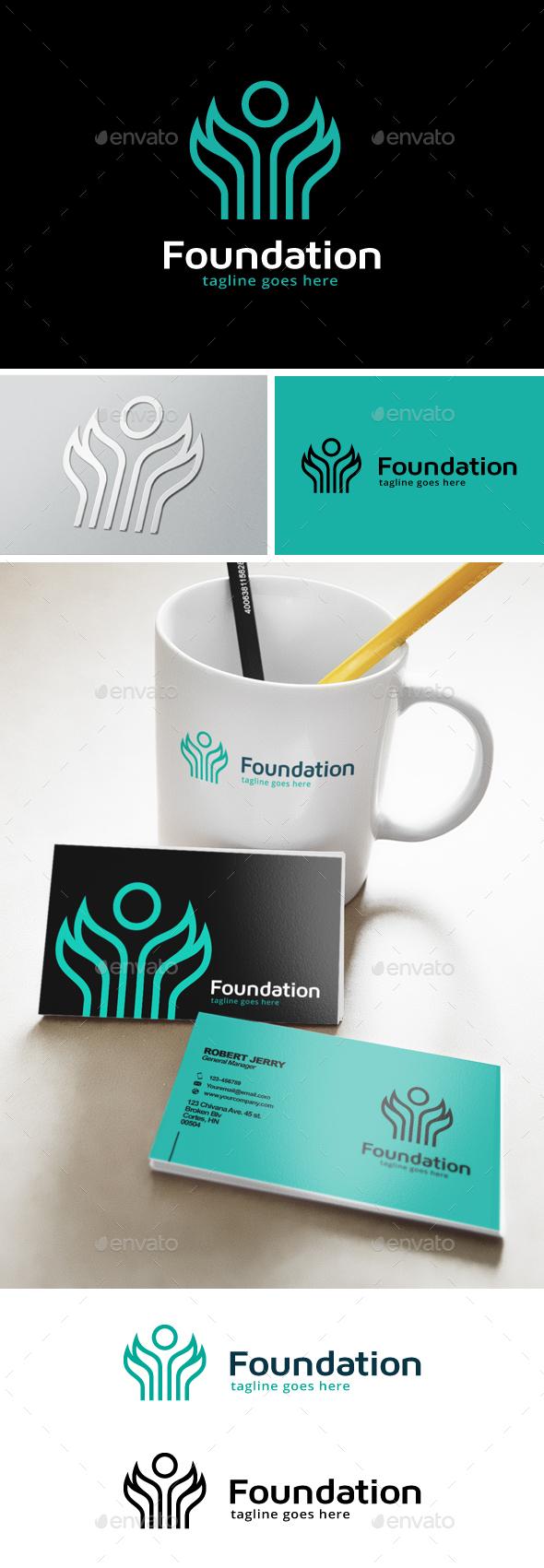 Foundation Logo - Humans Logo Templates