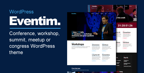 Eventim – Conference, Event, Workshop and Congress Theme