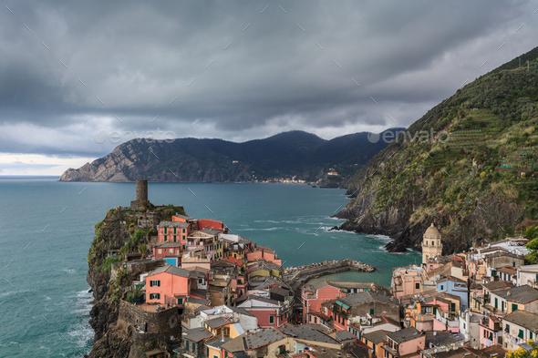 Vernazza, Itally - Stock Photo - Images
