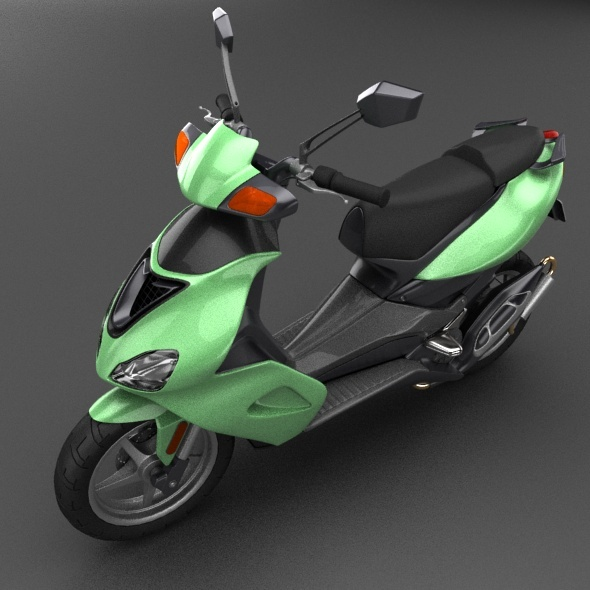 Generic scooter - 3DOcean Item for Sale