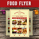 Food Flyer Template Vol. 5 - GraphicRiver Item for Sale