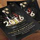 New Year's Cocktail Party Template - GraphicRiver Item for Sale