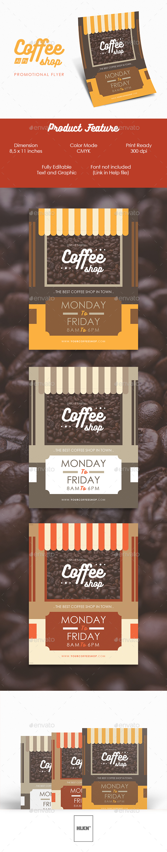 Coffeeshop Flyer - Restaurant Flyers