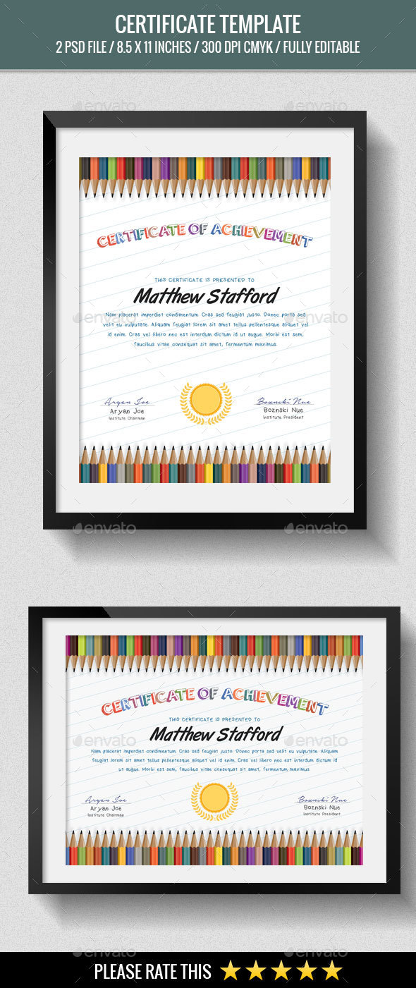 School Certificates - Certificates Stationery