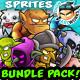 RPG Game Enemies Character Bundle  01