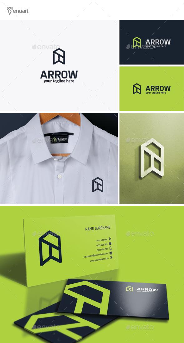 Arrow - Leter A Logo - Letters Logo Templates