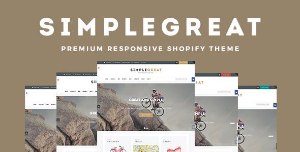 SimpleGreat – Premium Responsive Shopify Theme
