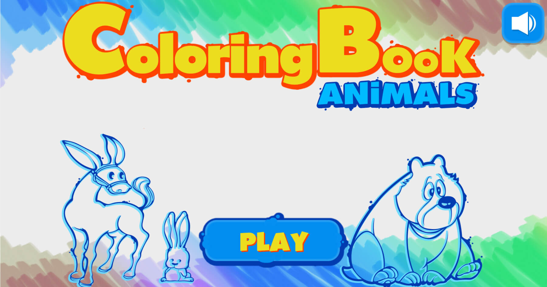 html5 coloring book animals html5 game - Coloring Book Animals